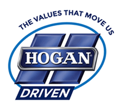 The values that move us. Hogan Driven.