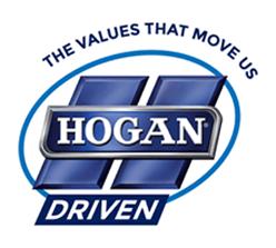 The values that move us. Hogan Driven.